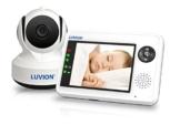 Luvion 88 Essential Digitales Video - Babyphone mit 3,5 Zoll Farbbildschirm und Gegensprechfunktion -