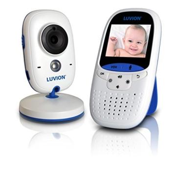 Luvion Easy Easy digitales Video - Babyphone mit 2 Zoll Farbbildschirm, VOX Modus und Gegensprechfunktion -