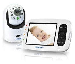 Luvion GE2 Grand Elite 2 - Infant Optics DXR-8 Digitales Babyphone mit Videofunktion, Farbdisplay 3.5 inch, digitale fernsteuerbare Kamera und optionale Objektive -
