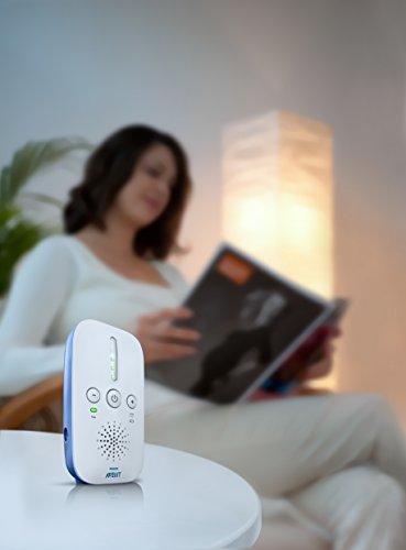 Philips Avent SCD501/00 DECT Babyphone (Smart Eco Mode, Nachtlicht) -