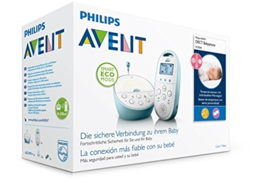 Philips Avent SCD560/00 DECT Babyphone (Smart Eco Mode, Temperatursensor ) -