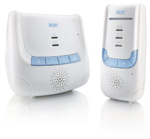 NUK 10256266 - Babyphone Eco Control DECT 266 mit Full Eco Mode; 100% frei von hochfrequenter Strahlung im Stand-by -