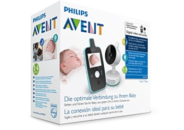 Philips Avent SCD603/00 Video Babyphone (Farbdisplay & Nachtsichtfunktion) -