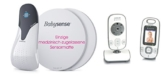 Audioline Babysense 5 plus Watch und Care V90 - Atmungs-, Video- und Audioüberwachung -