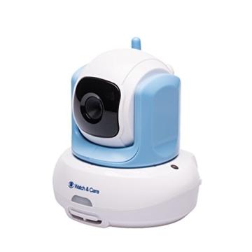 Audioline Watch & Care V300 - Videobabyphone mit automatisch schwenkbarer Kamera -
