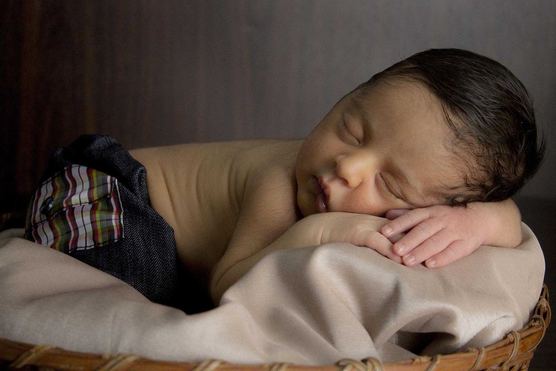 Schlafverhalten von Babys