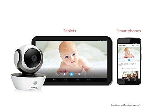 Motorola 409010400201 Babyphone MBP85 Connect, weiß -